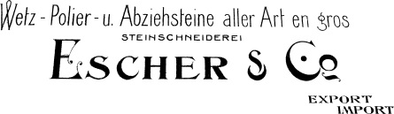Escher & Co. Logo Export Import