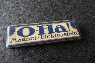 O-Ha! Magnet = Elektrostein Packaging