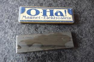 O-Ha! Magnet = Elektrostein wet