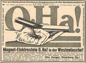 Otto Hunger, Elsterberg