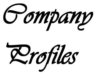 Company Profiles Text