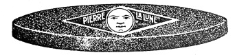 Pierre La Lune a Faux print ad / Pierre la Lune für Sensen Werbeanzeige