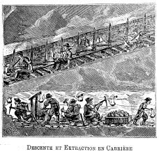 Descente et Extraction en Carrière